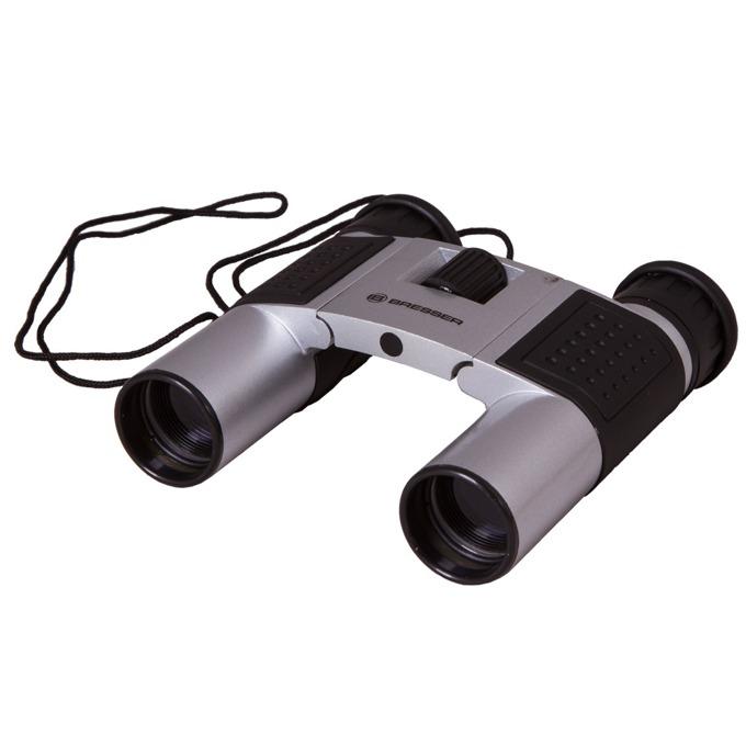Бинокъл Bresser Topas 10x25, 10x оптично увеличение, диаметър на лещата 25mm, сив image