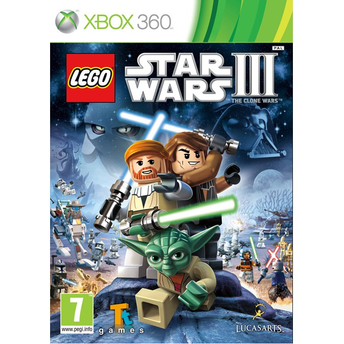 Игра за конзола Lego Star Wars III: The Clone Wars, за XBOX360 image