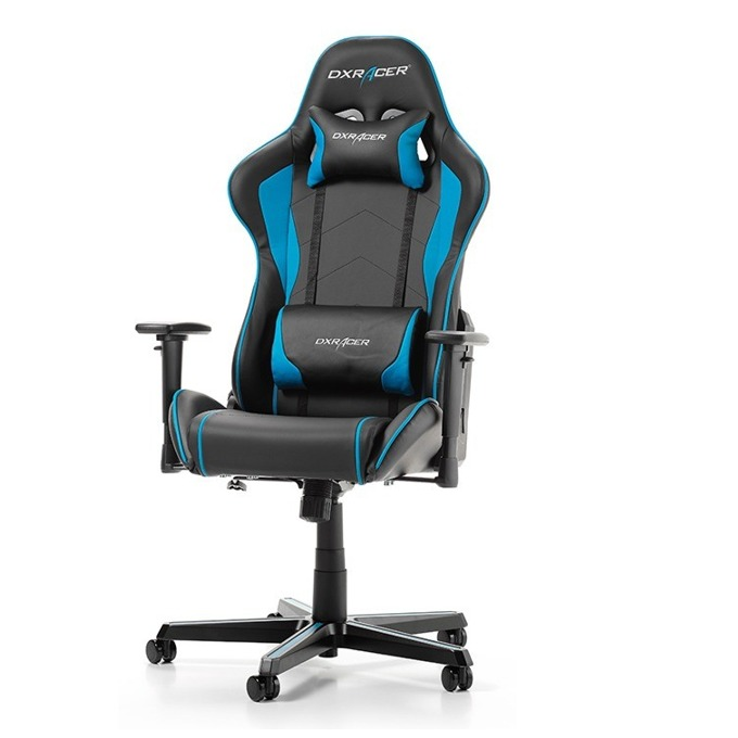 Геймърски стол DXRacer Formula OH/FH08/NO, черен/син image