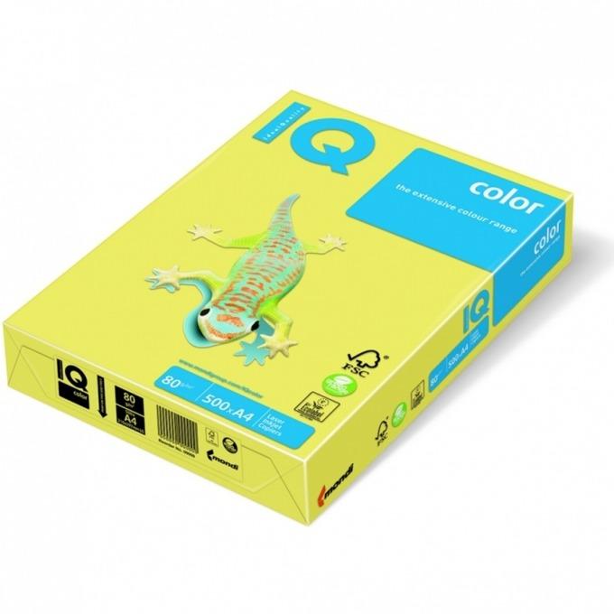 Картон Mondi CY39, Цветен, А4, 160g/m2, 250л., жълт image
