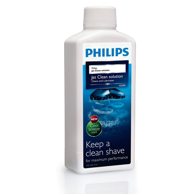 Почистващ разтвор Philips HQ200/50, jet Clean and lubricates Cool Breeze scent image