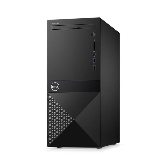 Настолен компютър Dell Vostro 3670 MT (N114VD3670BTOEMEA01_1905_UBU), шестядрен Coffee Lake Intel Core i5-8400 2.8/4.0 GHz, NVIDIA GeForce GT 710 2GB, 8GB DDR4, 1TB HDD, 2x USB 3.1, клавиатура и мишка, Linux image