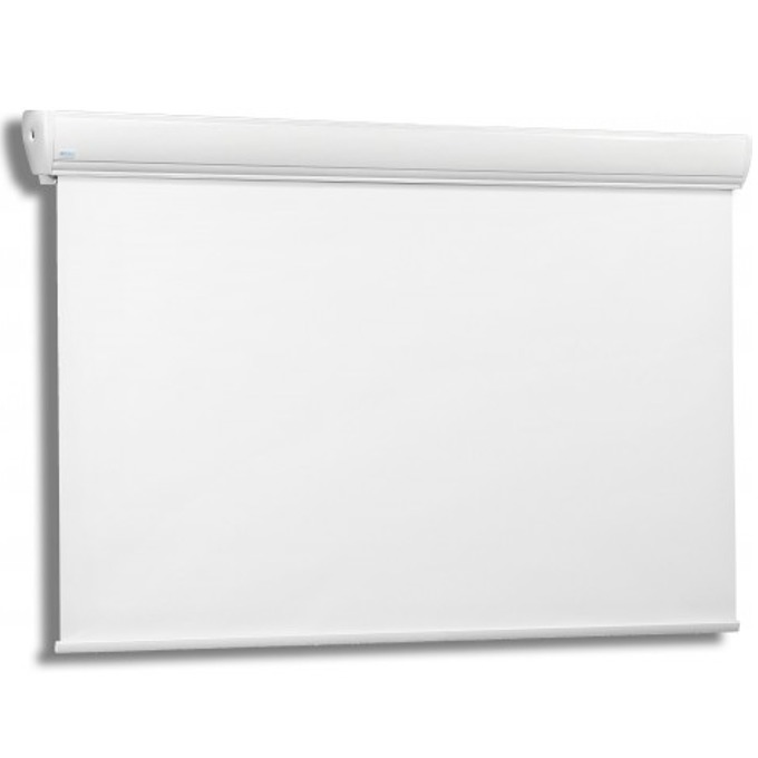 Екран Avers STRATUS 2 (24-18 MWP), eлектрически за стена/таван, Matt White P, 2400x1800 мм, 4:3 image