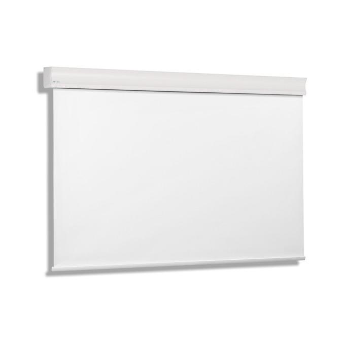 """Екран Avers CUMULUS 24-18 MW, стенен/таванен монтаж, Matt White, 240 x 180 см, 113"""" (287.02 cm), 4:3 image"""