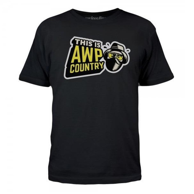 Тениска Gaya Entertainment CS:GO AWP Country, размер M, черна image