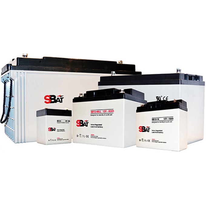 Акумулаторна батерия SBat SB12-2.3, 12V, 2.3Ah image