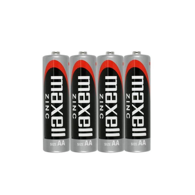 Батерии цинкови Maxell AA, 1.5V, 4 бр. image
