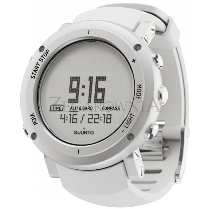 Часовник SUUNTO CORE ALU PURE, вграден пулсомер, подсветка, водоустоичив, компас, бял image