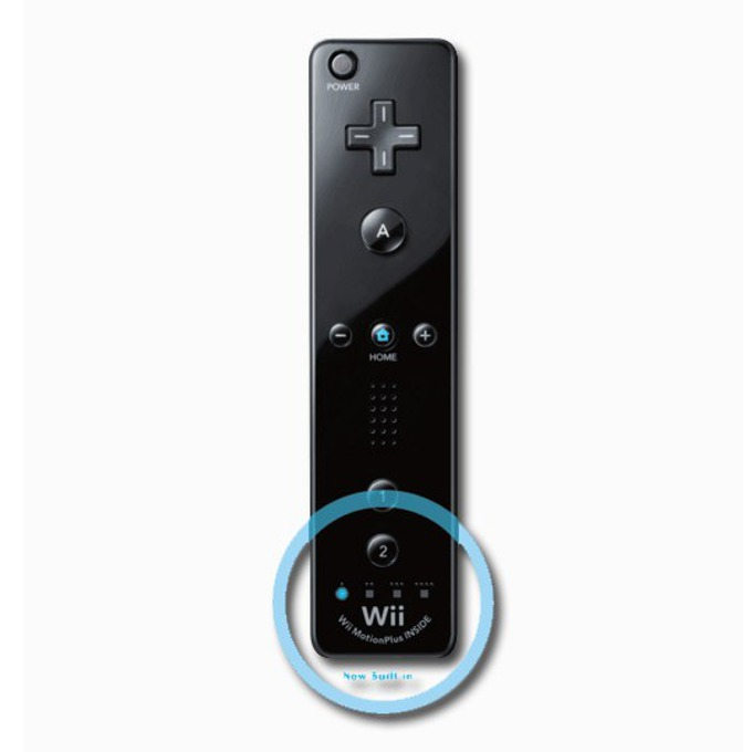 Контролер Nintendo WII U Remote Plus, черен за Wii/Wii U image