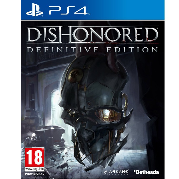 Dishonored: Definitive Edition, DLC пакетите включват : Dunwall City Trials, The Knife of Dunwall, The Brigmore Witches и Void Walker's Arsenal; за PS4 image