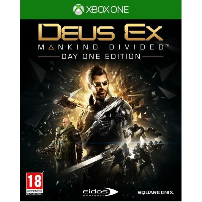 Deus Ex: Mankind Divided Day 1 Edition, за Xbox One image