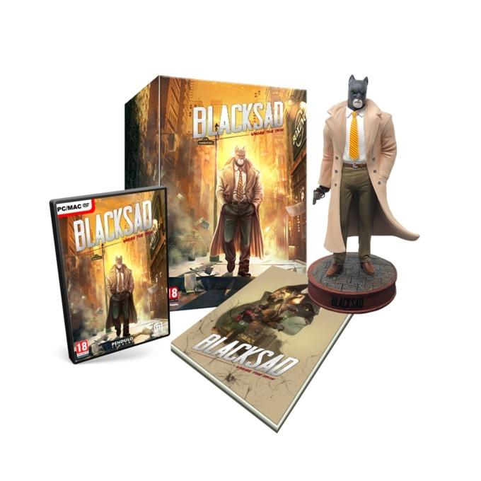 Игра Blacksad: Under the Skin Collector's Edition, за PC image