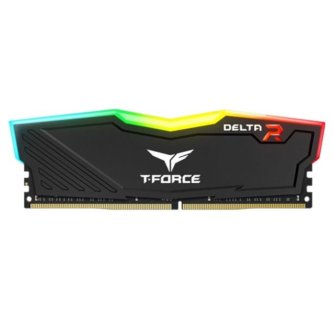 Памет 4GB DDR4 2400MHz, TeamGroup DELTA RGB TF3D44G2400HC1601, 1.2V image