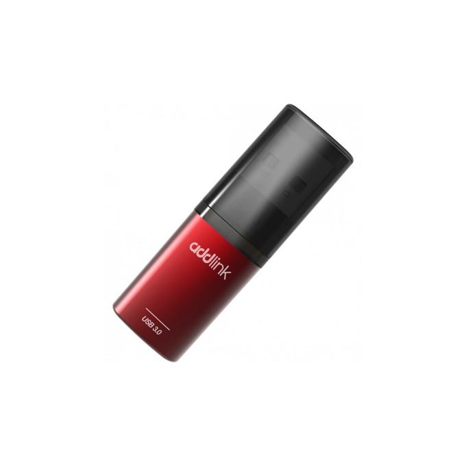 Памет 64GB USB Flash Drive, Addlink U55, USB 3.0, червена image