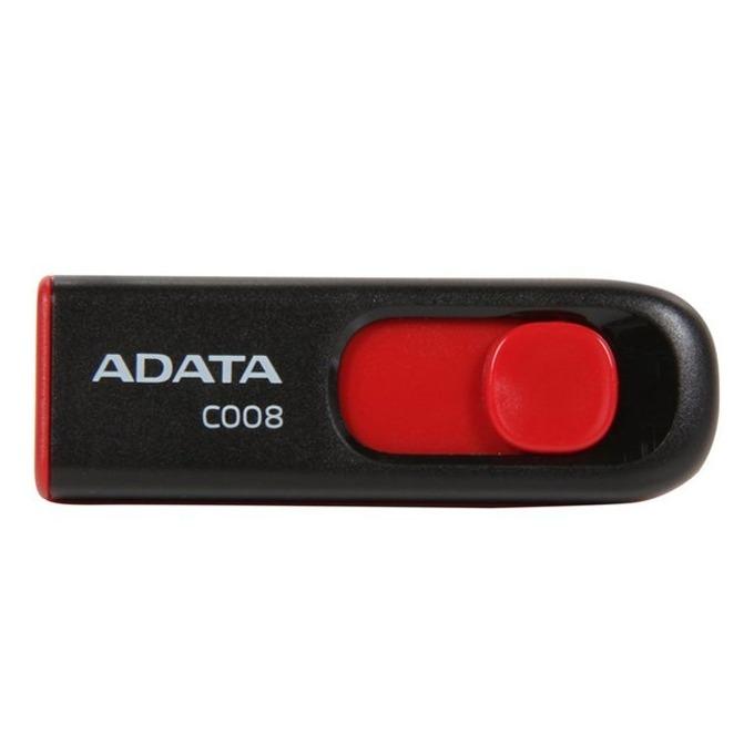 16GB USB Flash Drive, A-Data C008, USB 2.0, черна image