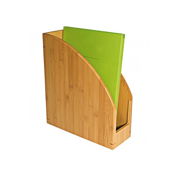 Поставка за документи Wedo Bamboo, кафява image