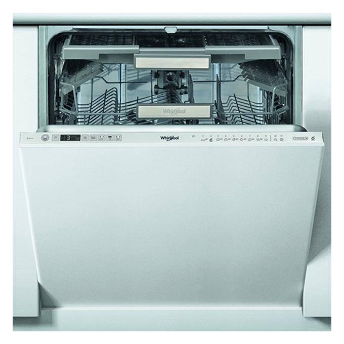 Съдомиялна за вграждане Whirlpool WIO 3T133 DEL, клас А+++, 14 комплекта, 11 програми, 5 температури, 6-то чувство, LCD дисплей, бяла  image