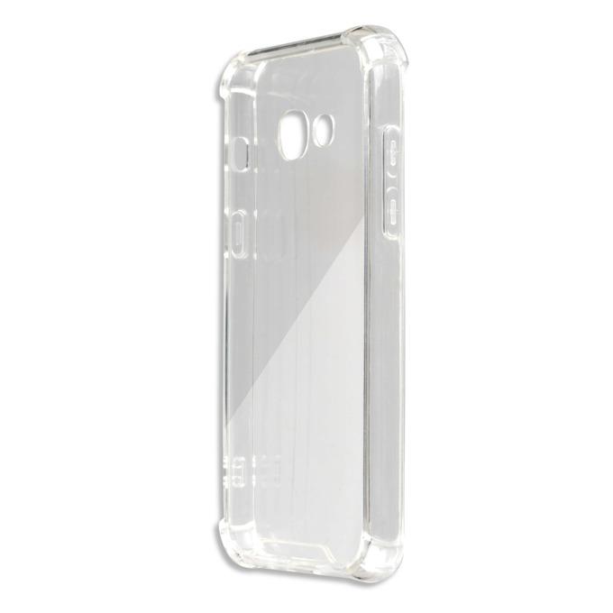 Калъф Samsung Galaxy A3 (2017), страничен протектор с гръб, термополиуретан, 4smarts Hard Cover Ibiza, прозрачен image