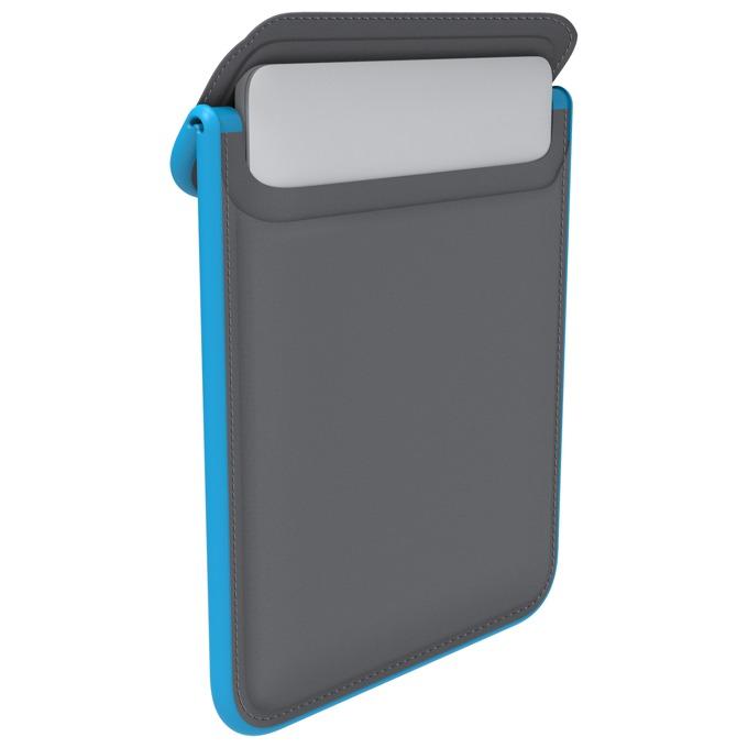 "Калъф /тип джоб/ Speck Flaptop Sleeve за MacBook Air 13"", водоустойчив, противоударен, син/сив image"
