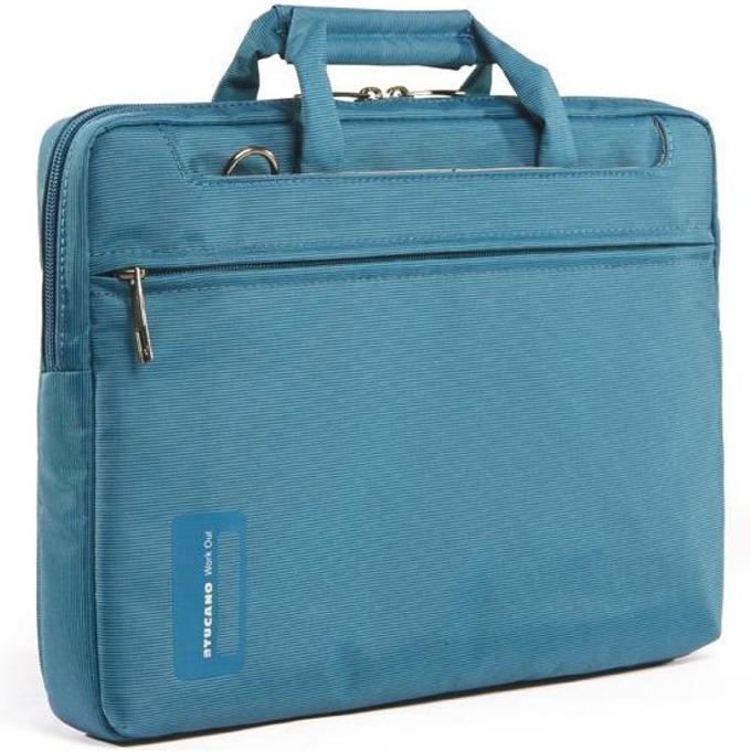 "Чанта за MacBook Pro TUCANO WO-MB154-B Workout, 15.4""(39.12cm), синя image"