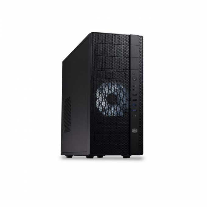 Кутия CoolerMaster N400, ATX, USB3.0, черна, без захранване image