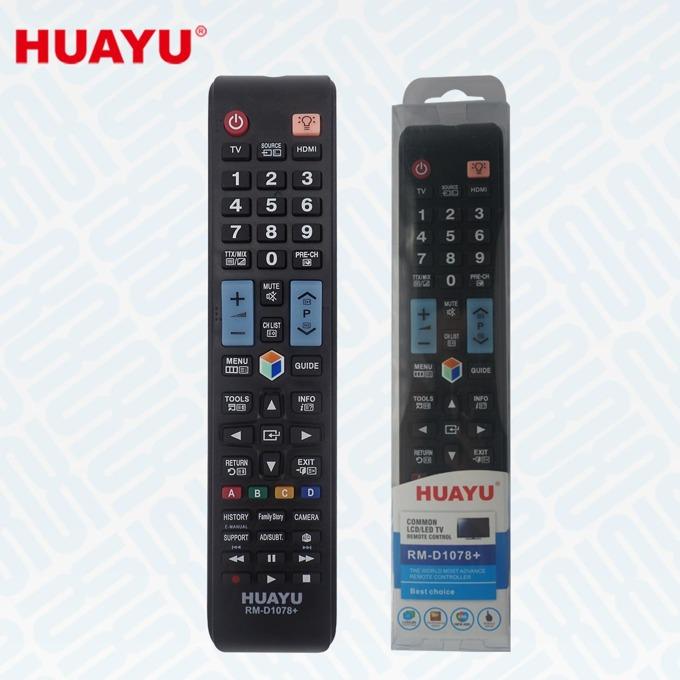 Универсално дистанционно за телевизори Samsung, Huayu RM-D1078+, черно image