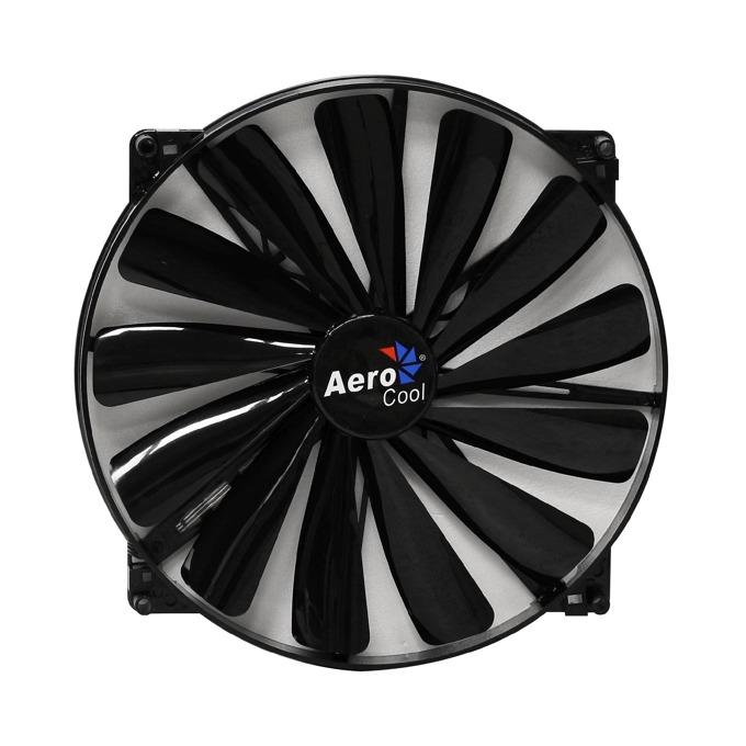 Вентилатор 200mm AeroCool Dark Force Black, 3-pin, 700rpm image