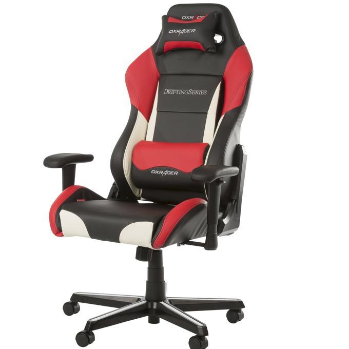 Геймърски стол DXRacer Drifting, червен image