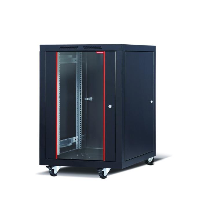 "Комуникационен шкаф Formrack CSM-20U6080, 19"", 20U, 600 x 780 mm, черен image"