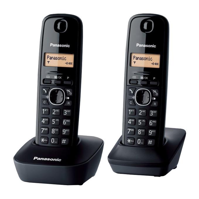 Безжичен телефон Panasonic KX-TG1612FXH 1015064