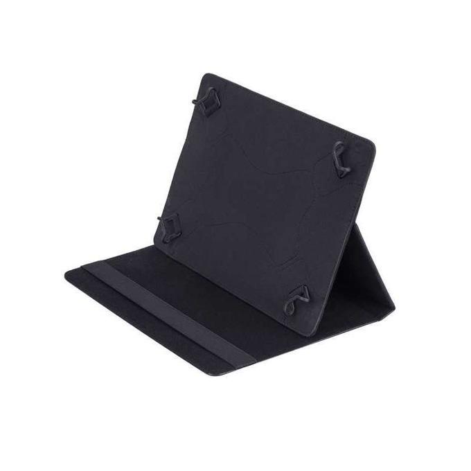 "Калъф, /тип бележник/ за таблет RIVACASE 3007, до 10.1"" (25.65 cm), черен  image"