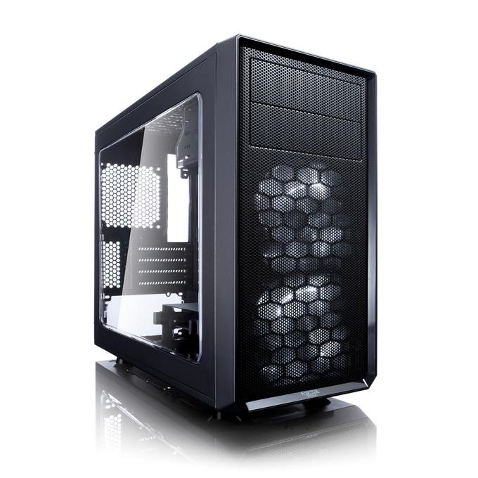 Кутия Fractal Design Focus G Mini, mATX/ITX, USB 3.0, прозорец, черна, без захранване image