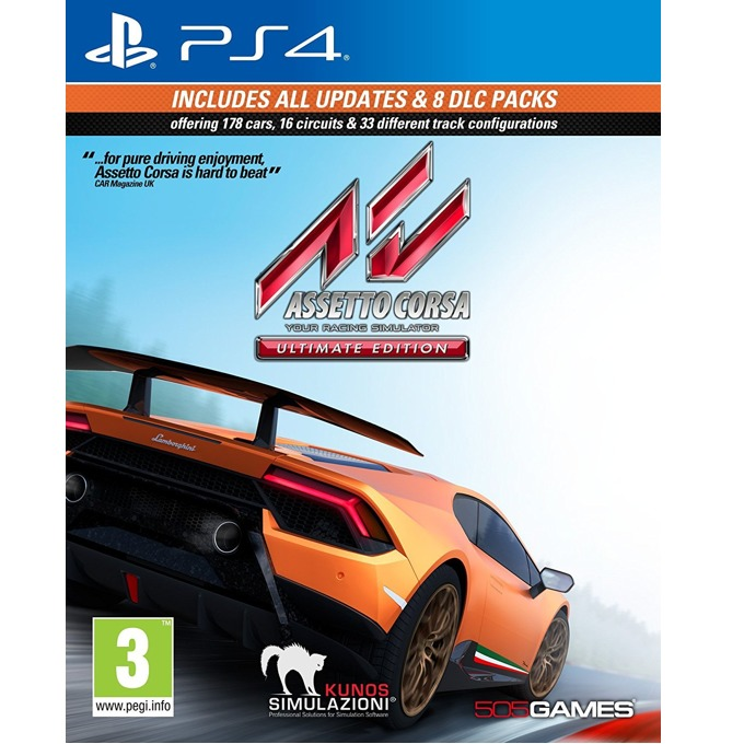 Assetto Corsa Ultimate Edition, за PS4 (Pre-order) image