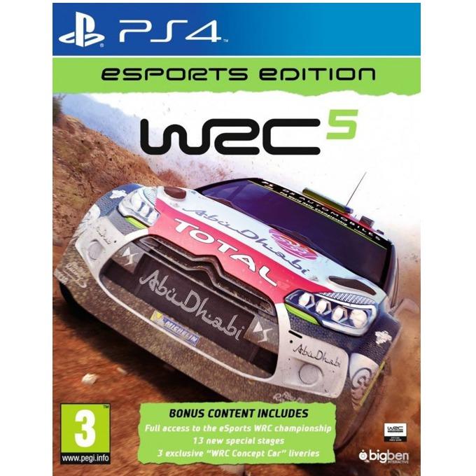 Игра за конзола WRC 5 Esport Edition, за PS4 image