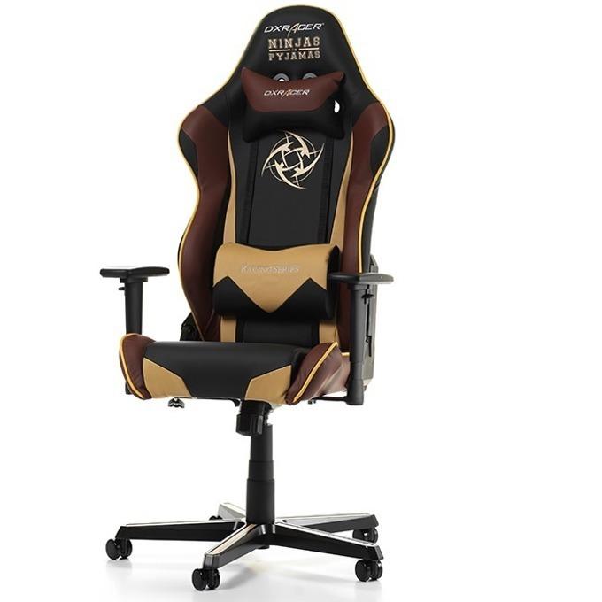 Геймърски стол DXRacer Racing OH/RZ126/NCC/NIP, черен/Beige/Burgundy image