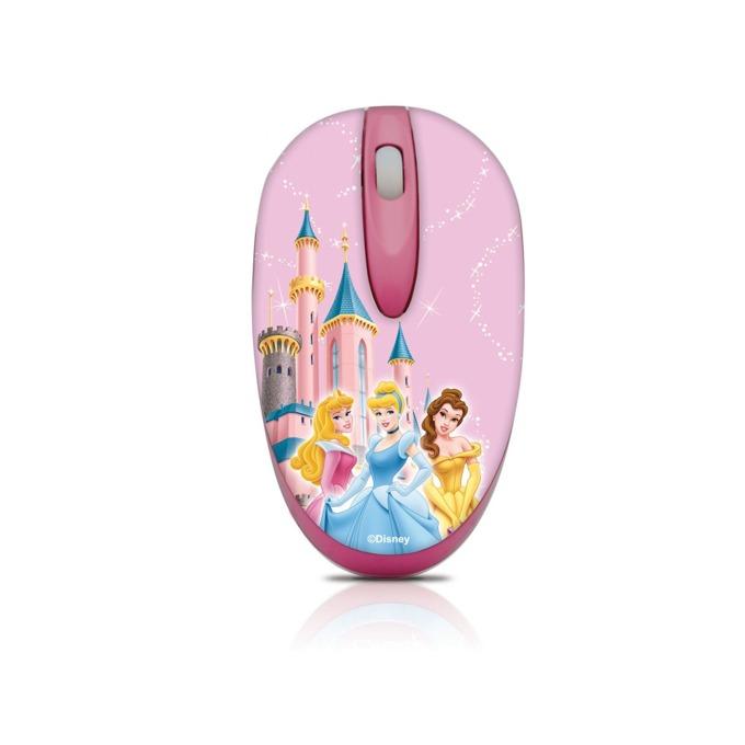 Мишка Circuit Planet Princess DSY-MM211, оптична (1000 dpi), USB, розова, самонавиващ се кабел image