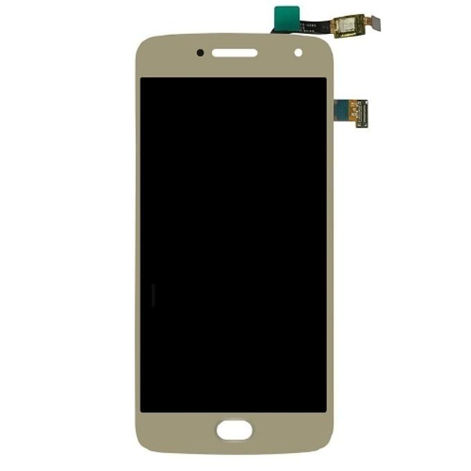 Дисплей за Motorola Moto G5 Plus LCD, с тъч, златист image
