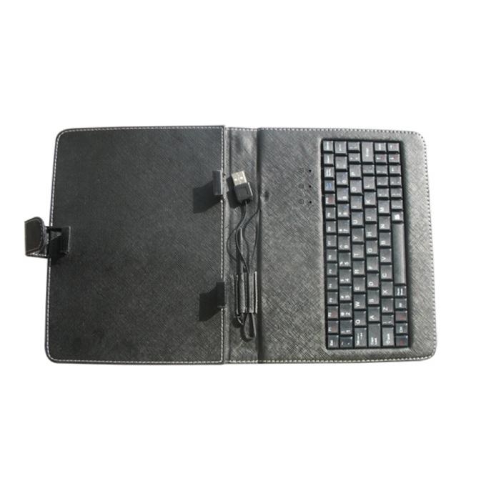 """Калъф за таблет до 8""""(20.32 cm) Privileg MID-8 с  вградена USB клавиатура image"""