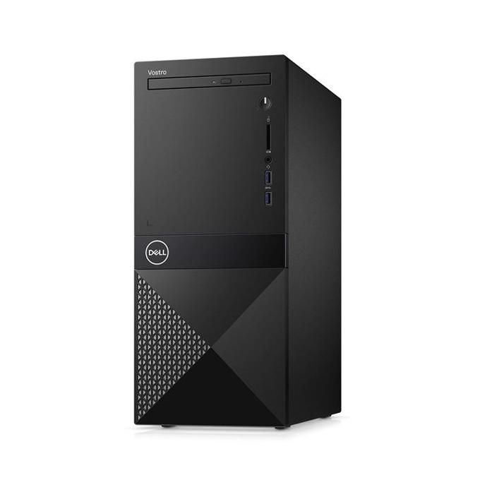 Настолен компютър Dell Vostro 3670 MT (N210VD3670BTOEMEA01_1905), шестядрен Coffee Lake Intel Core i7-8700 3.2/4.6 GHz, GeForce GTX 1050Ti 4GB, 8GB DDR4, 1TB HDD & 128GB SSD, 2x USB 3.1, клавиатура и мишка, Windows 10 image