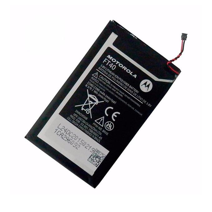 Батерия (оригинална) Motorola FT40 за телефон Motorola Moto E2, 2240mAh/3.8V, Bulk image