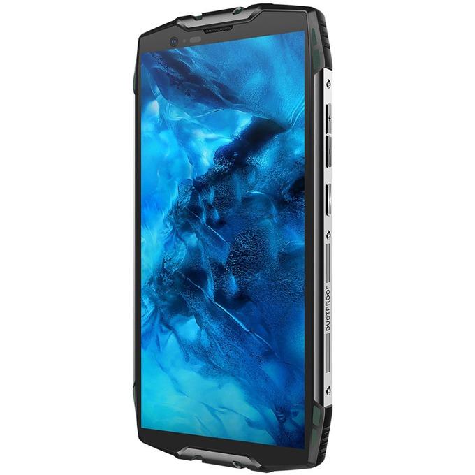 "Xiaomi Blackview BV6800 Pro (черен/зелен), поддържа 2 sim карти, 5.7""(14.48 cm) Full HD+ IPS дисплей, осемядрен Mediatek MT6750T 1.5 GHz, 4GB RAM, 64GB Flash памет (+ microSD слот), 12 MPix + 12 MPix & 8 MPix камера, Android, 275 g image"