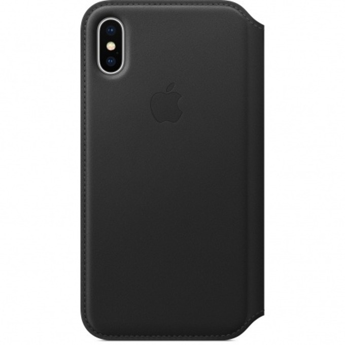 Apple iPhone X Leather Folio - Black product