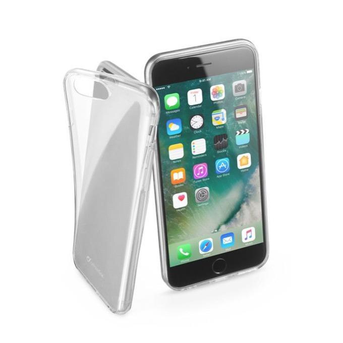 Страничен протектор с гръб Cellular Line за iPhone 7 Plus, прозрачен image