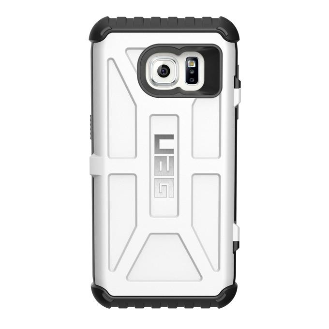 Хибриден кейс Urban Armor Gear Scout Card, Galaxy S7, удароустойчив, отделение за кр.карти, бял image
