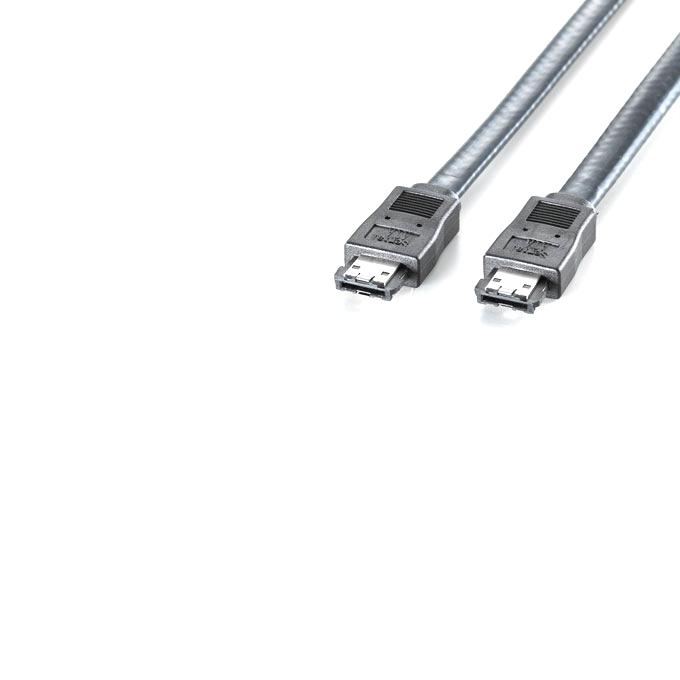Кабел eSATA 6Gb/s -> eSATA 6Gb/s, 1.0m