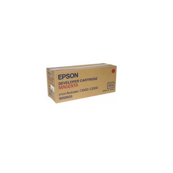 КАСЕТА ЗА EPSON AcuLazer C2000/C1000/C1000N - Magenta - P№  C13S050035 - заб.: 6000k image