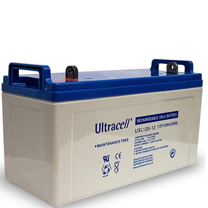 Акумулаторна батерия Ultracell 120-12, 12V, 120Ah image
