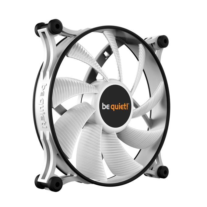 Вентилатор 140mm Be Quiet Shadow Wings 2 white, 900rpm image