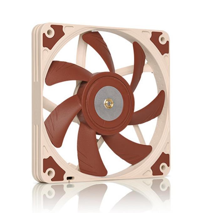 Вентилатор 120mm, Noctua 120x120x15mm, 3-pin, 1850 rpm, кафяв image
