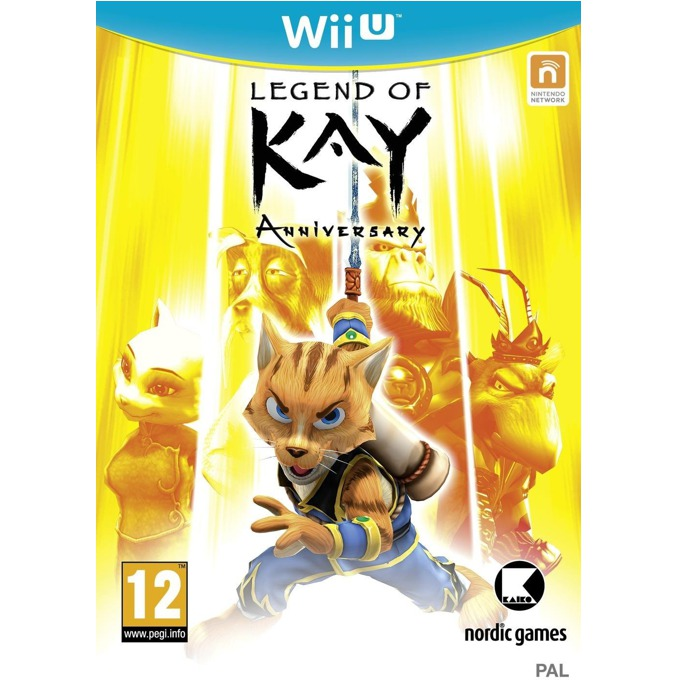 Legends of Kay Anniversary, за Wii U image